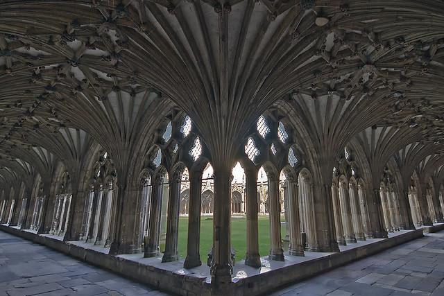 Canterbury cloisters