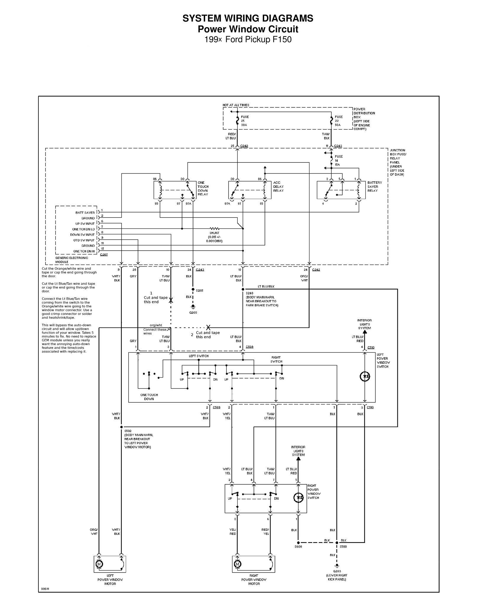 1997 F150 Blower Motor Wiring Diagram 1997 Ford E 450 Fuse Box Vw T5 Yenpancane Jeanjaures37 Fr