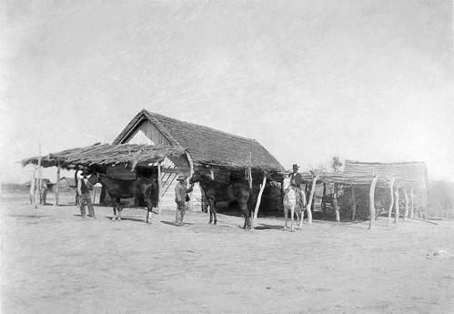 Vaqueros, Vidaurri ranch, Laredo, 1910