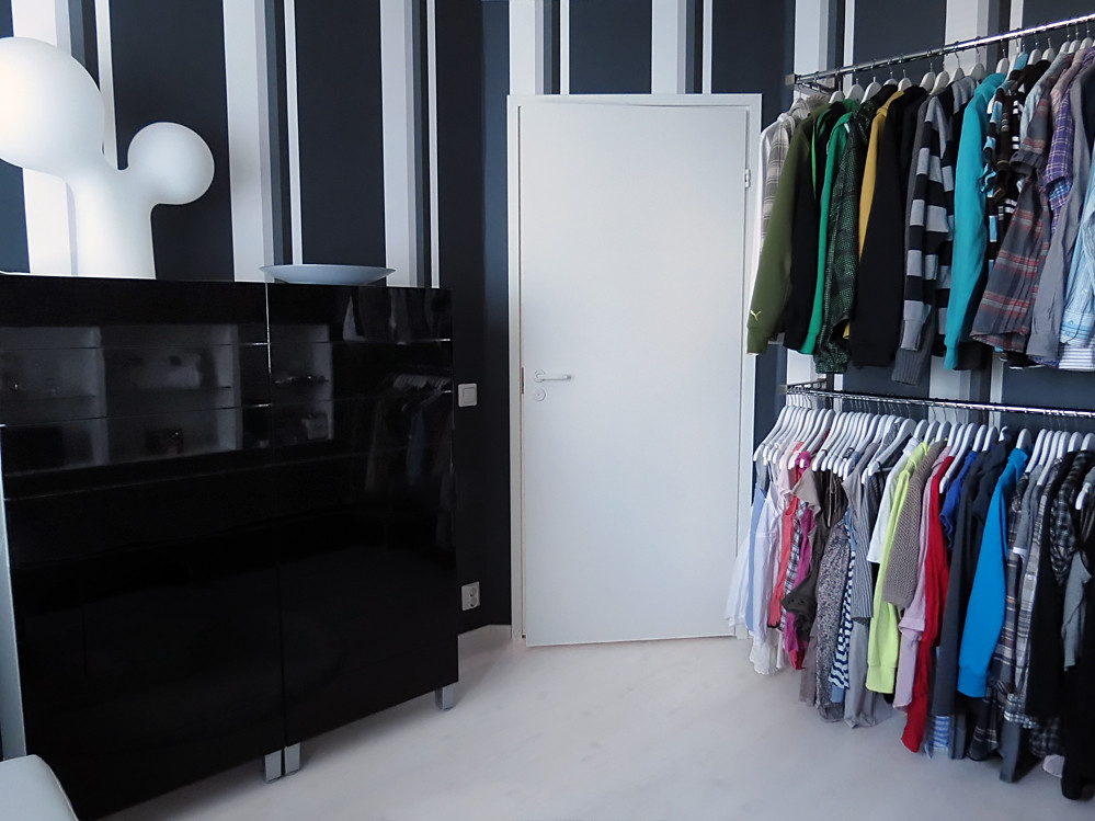 My Walk In Closet Part 3.. | Behind The Door Are Two Wall Mo ...
