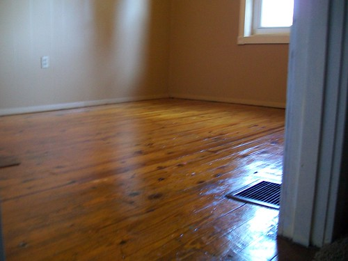 Dried Paint Off Hardwood Floors Any Ideas Unclutterer