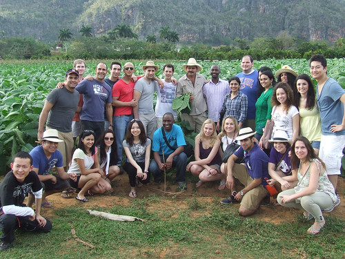 Hassenfeld Fellows on a trip to Cuba