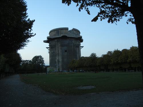 DSCN8906 _ Bunkerei (Bunker) from WWII in Augarten, Vienna - 500