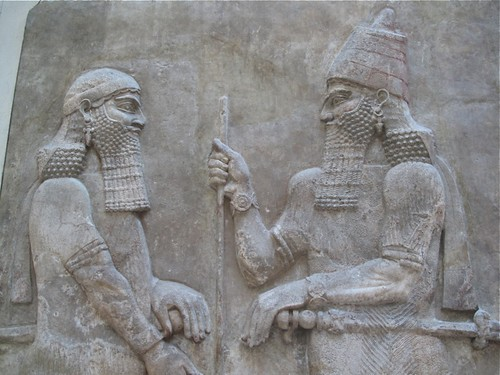 Relief from the palace of King Sargon II
