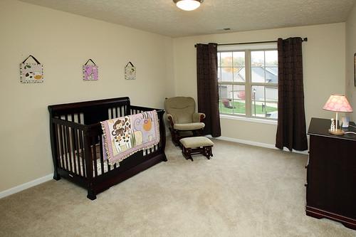 Bedroom used as nursery in Flatrock Ridge