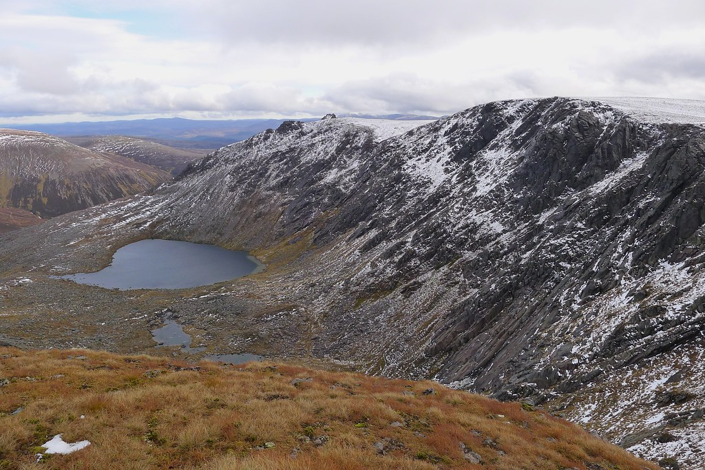 The Dubh Lochan and A' Chioch