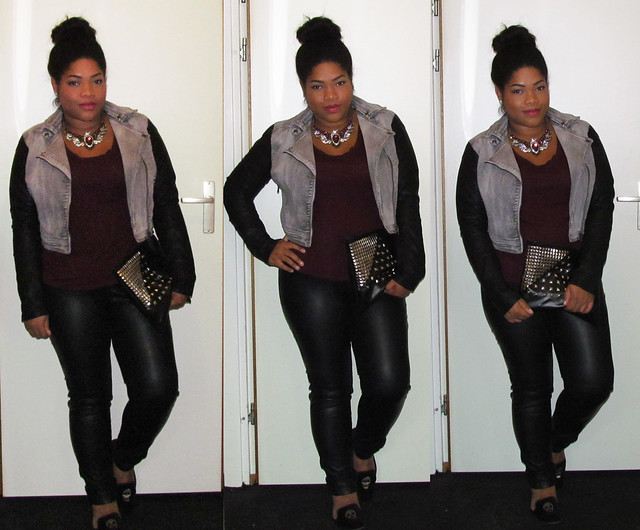 New Look, Zara, Loafers, DIY, studs, High bun