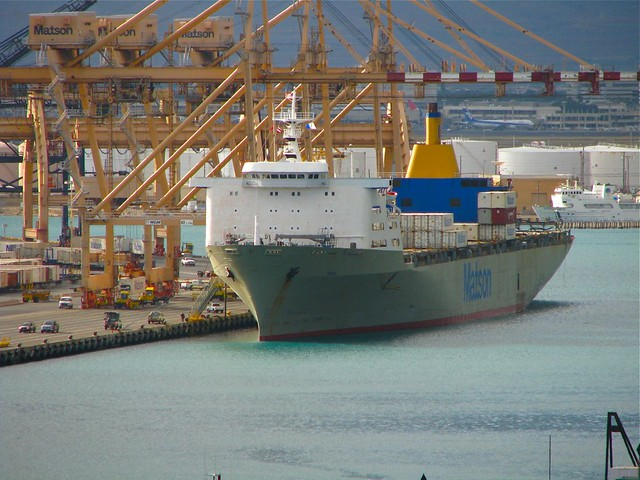 Matson container ship manoa flickr photo sharing - Matson container homes ...