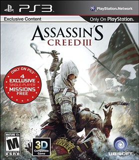 Assassin's Creed III for PS3 - box art