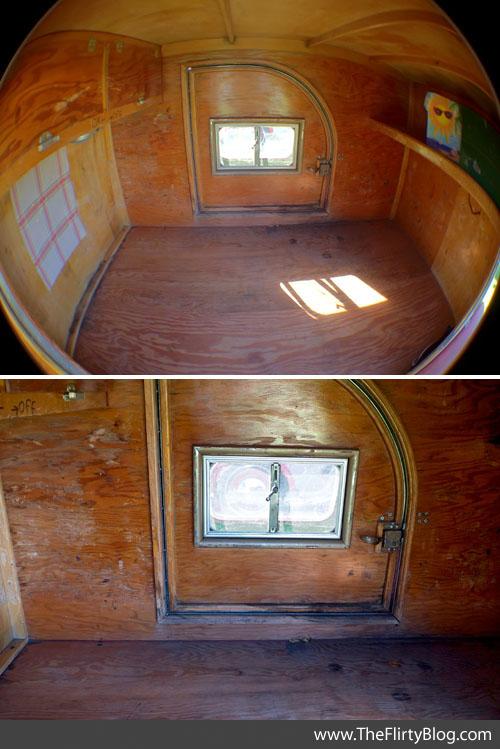 Interior vintage benroy teardrop trailer flickr photo for Teardrop camper interior ideas