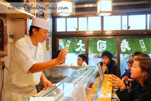 Tsukiji market - sushi dai - best sushi-032
