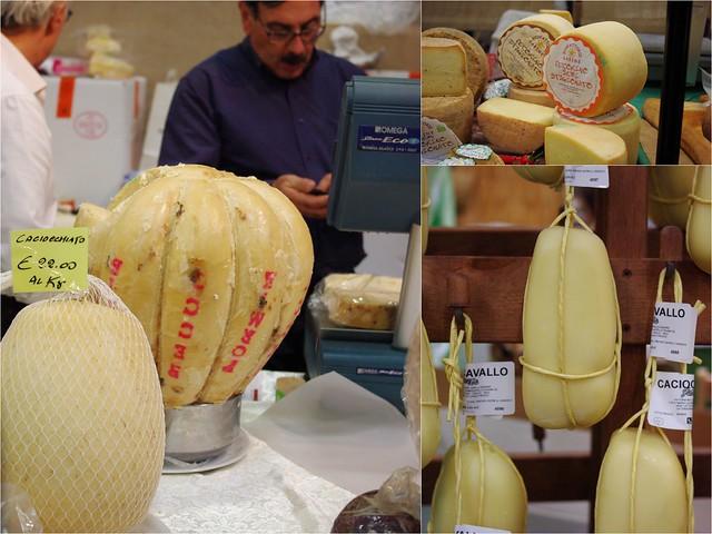 Provolone et fromages du Sud de l'Italie