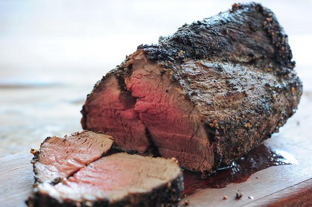 w2 pepper crusted beef