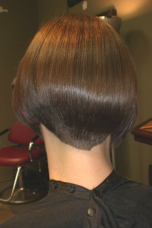 Women With Clippered Nape Haircuts http://www.flickr.com/photos/88560040@N08/8144302458/