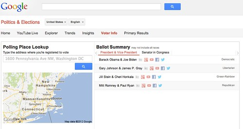 Voter Information - Google Politics & Elections