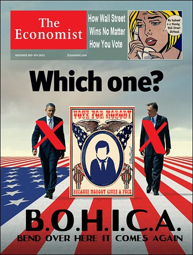 ECONOMIST COVER-WHICH ONE by Colonel Flick