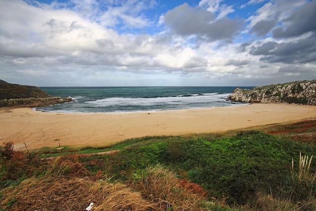 Playa de Usgo, Cantabria