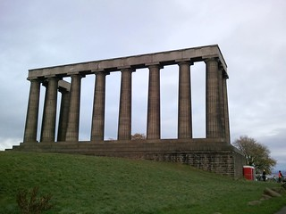 The National Monument on Calton Hill