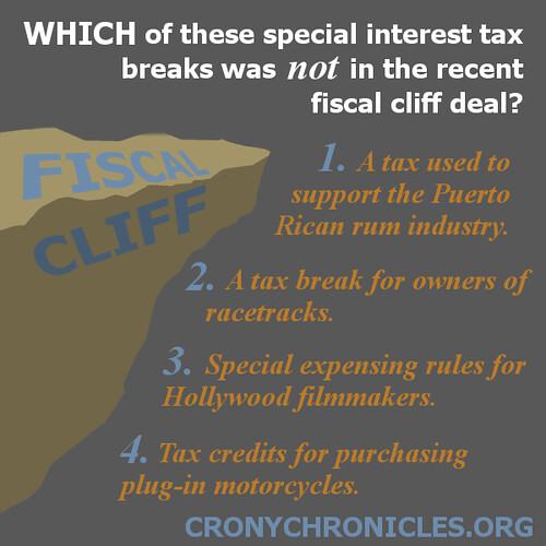 Fiscal Cliff giveaways