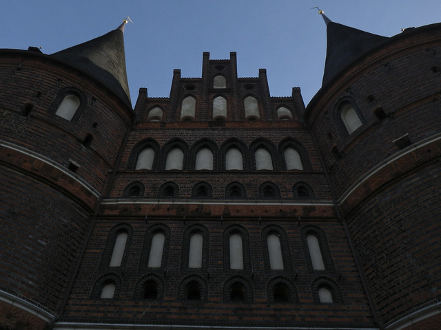 Lubeck Holstentor up close