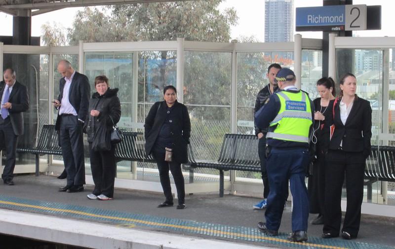 PSO at Richmond station