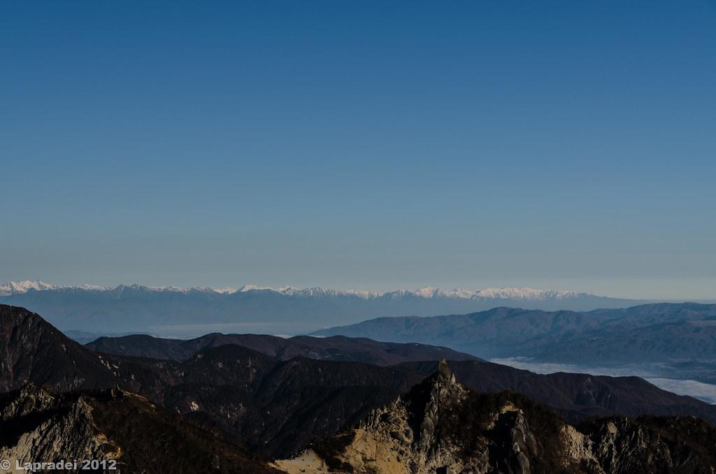 20121104 北アルプス 後立山連峰