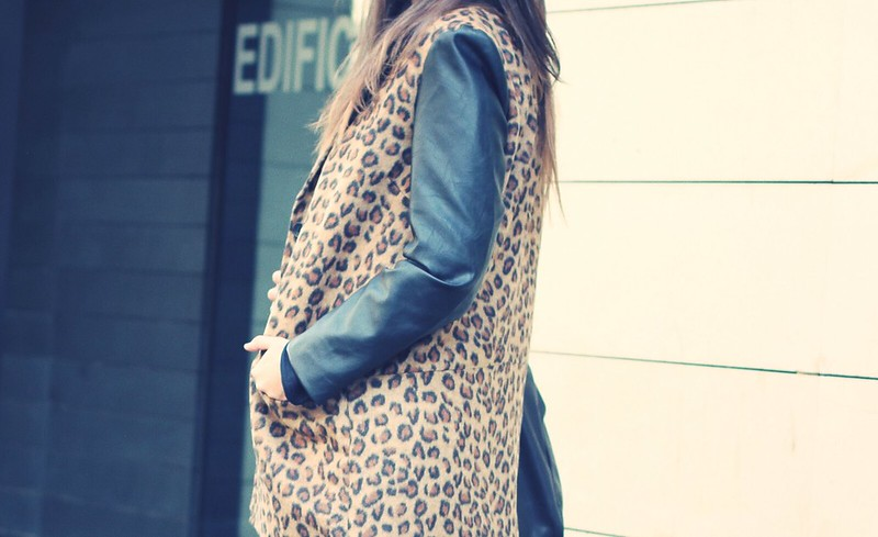Look leopard Coat