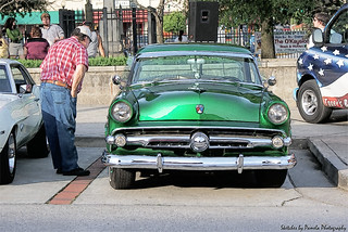 Sketch_1954 Ford  Showcased during The Summer Concert Series and Car Show in Cartersville, GA.