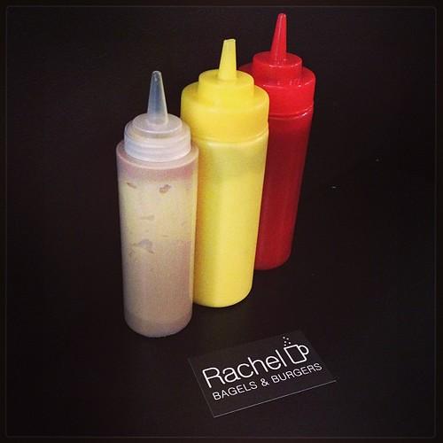 "Burger at "" Chez Rachel "" BXL"