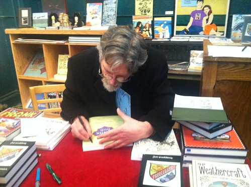 Jim Woodring Problematic at the Fantagraphics Bookstore & Gallery