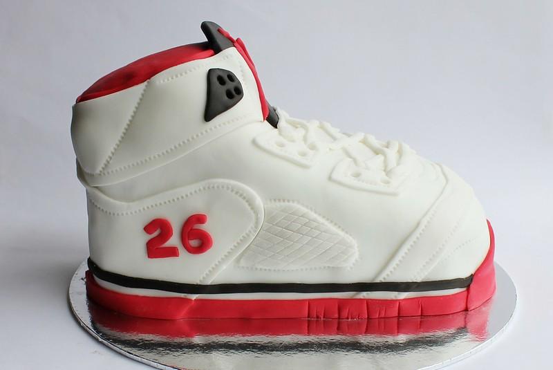 Air Jordan 3D Shoe Cake