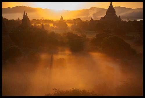 Sunset to Bagan