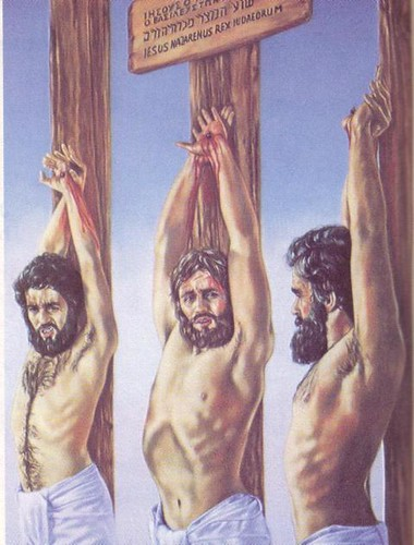 Crucifixion on pole or cross?