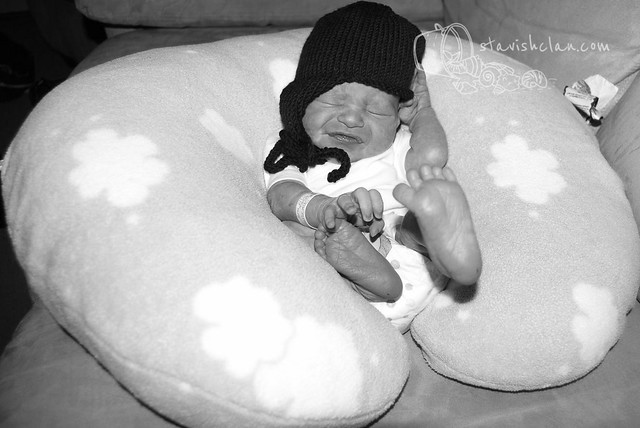 newborn Xander