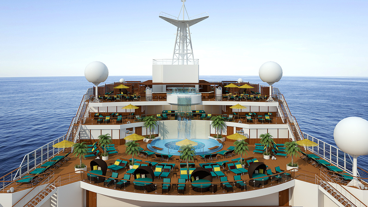 Carnival offers aged 55+ discounts as well. Photo from Carnival Cruise Lines.