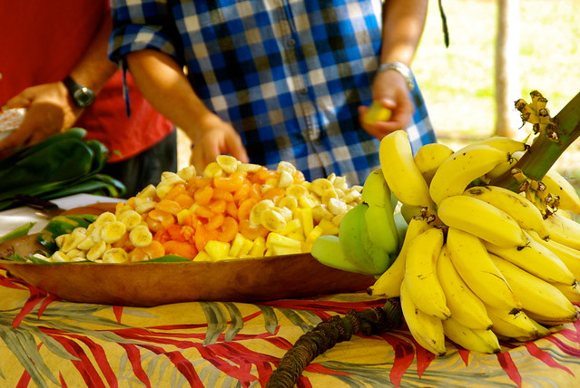 fruit bowl with tasting tour in kauai