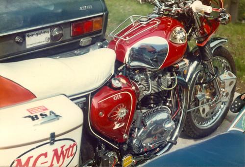 BSA A65 by John T100