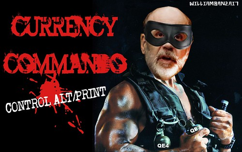 CURRENCY COMMANDO by Colonel Flick/WilliamBanzai7