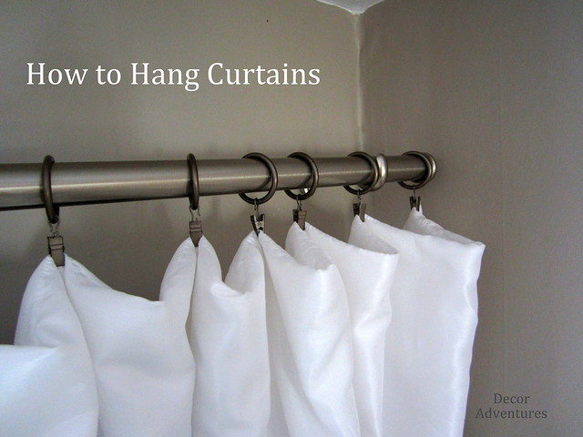 How To Hang Curtains Flickr Photo Sharing