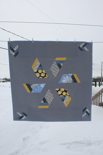 "Windmill Quilt FINISHED - 60"" x 60"""