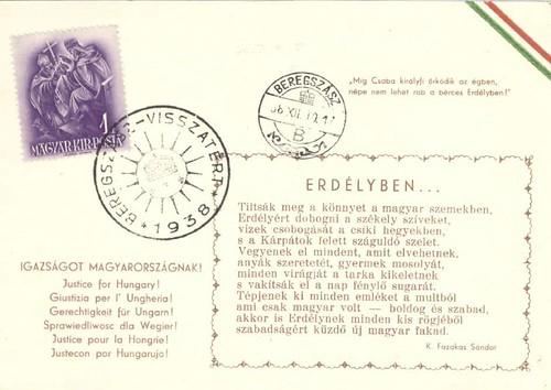Levelezőlap  - Erdélyben...