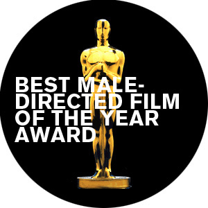Best male-directed film of the year award: the oscars