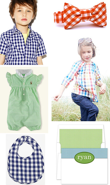 What's Hot for Tots: Gingham