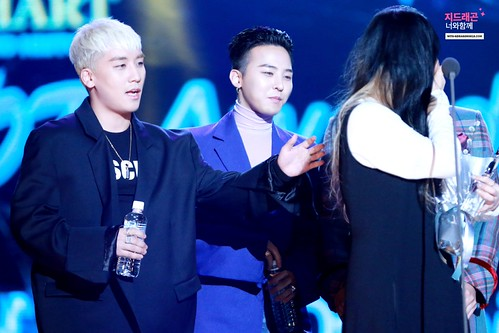 Big Bang - The 5th Gaon Char K-Pop Awards - 17feb2016 - With G-Dragon - 18