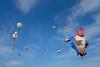 Montgolfières dans le ciel de Saint-Jean-sur-Richelieu