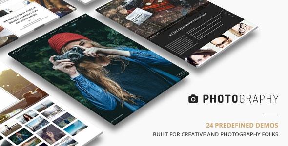 Photography v2.6 - Responsive Photography Theme