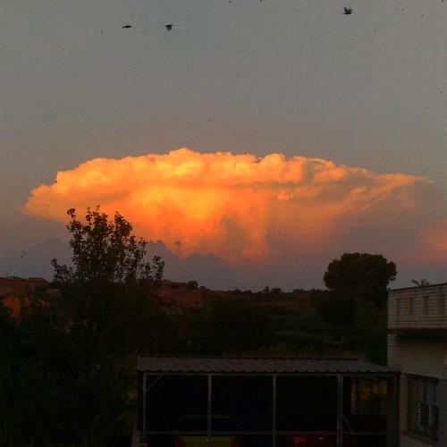 #Tormentas de #verano #summer #storms #huesca #igersaragon #igerszgz