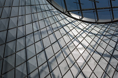 Sky Reflector-Net at the Fulton Transit Center