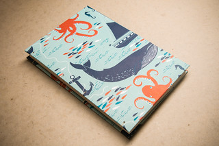 Nautical Coptic Sketchbook by Kleiner Eisbar