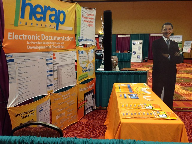 Therap Exhibit, at the IARF Conference, 2012